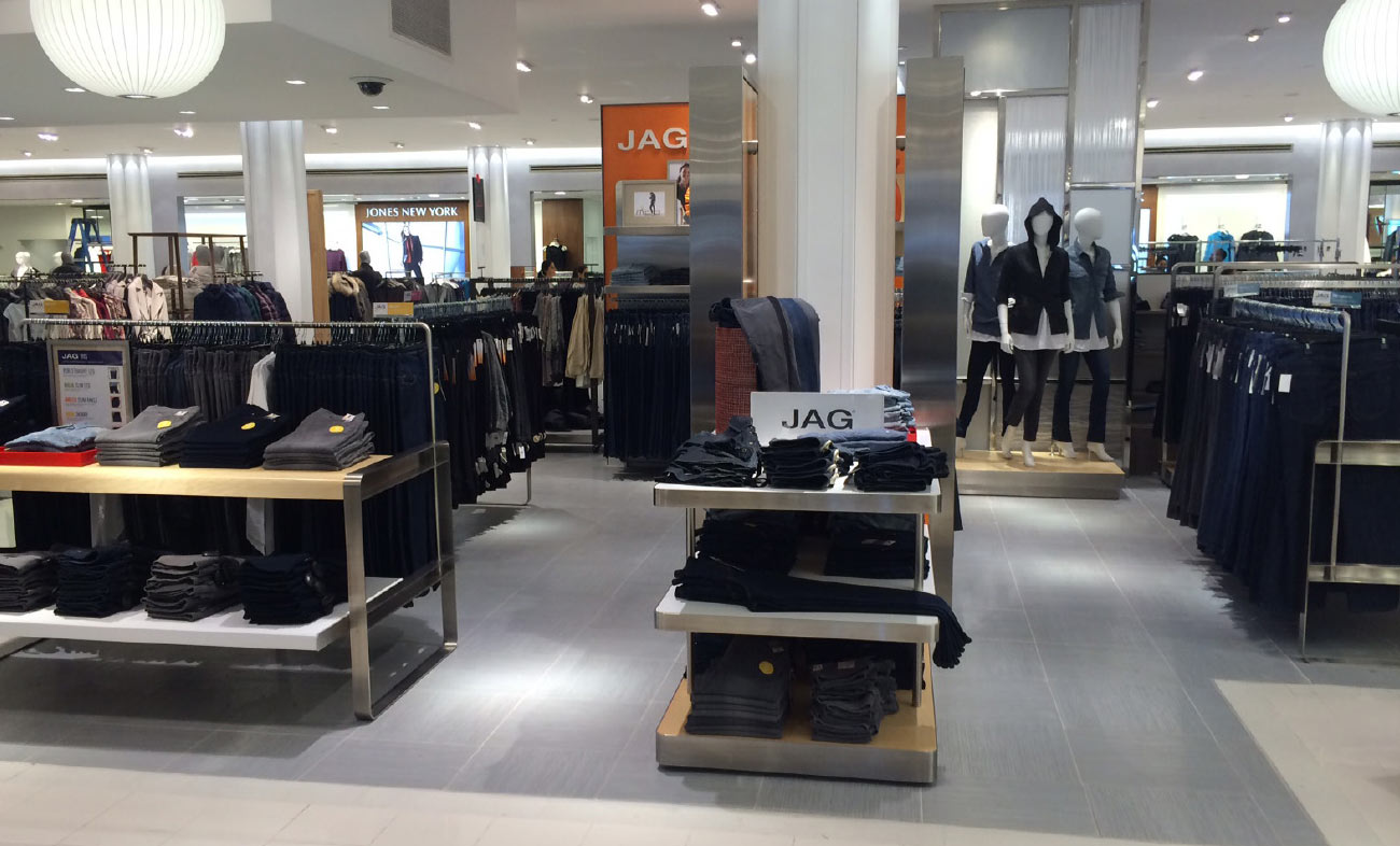 JAG Jeans Retail Environment / Macy's Herald Square