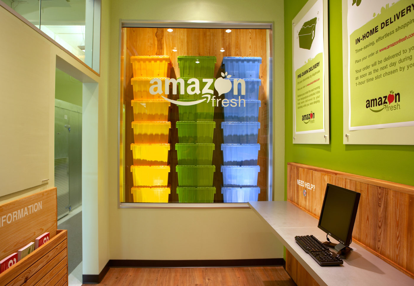 Amazon Fresh Retail Pop Up Shop