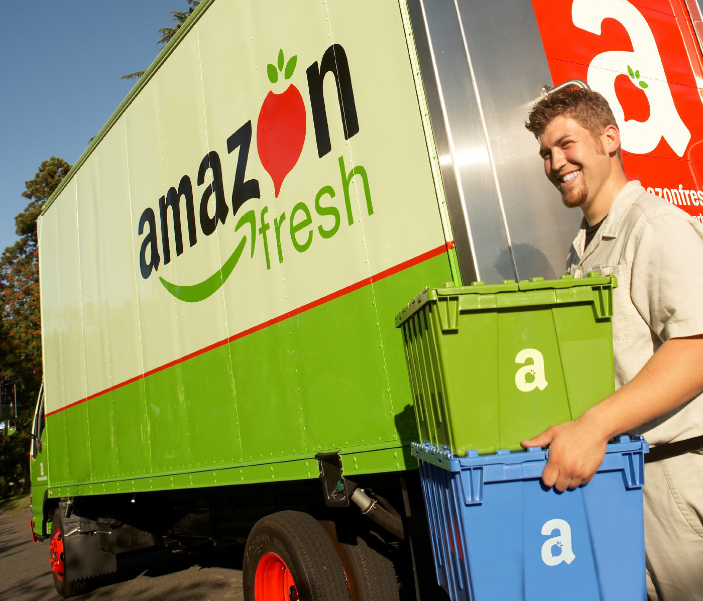 Amazon Fresh Environmental Graphics