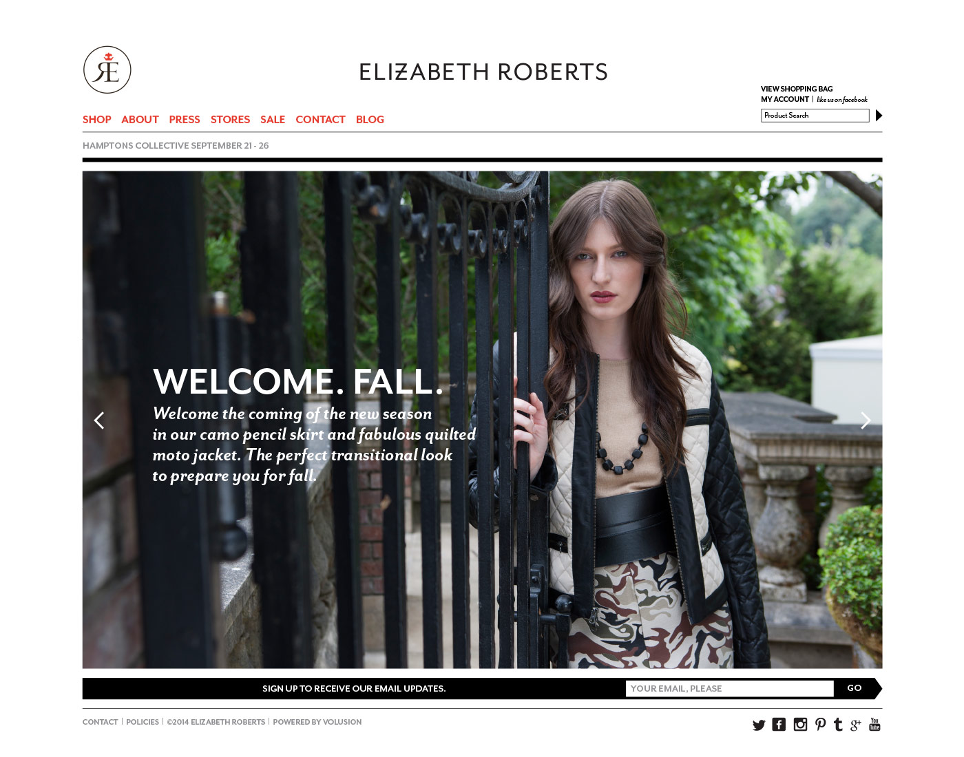 Elizabeth Roberts Website