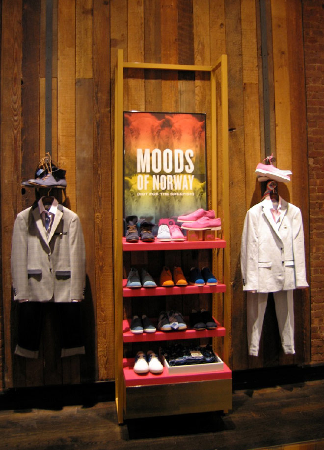 Moods of Norway Retail Environment / New York
