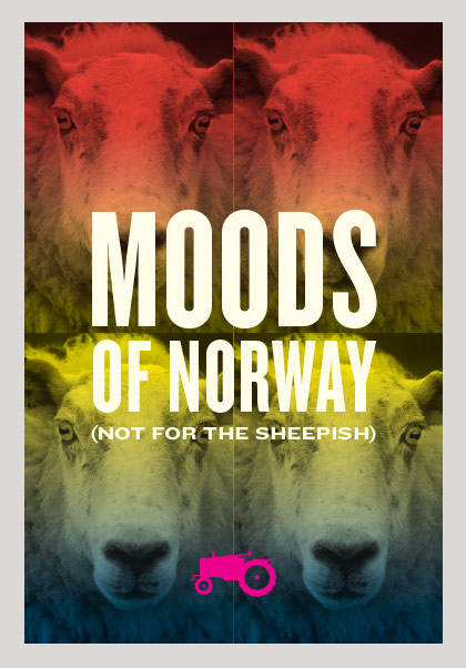 Moods of Norway Environmental Graphics / New York