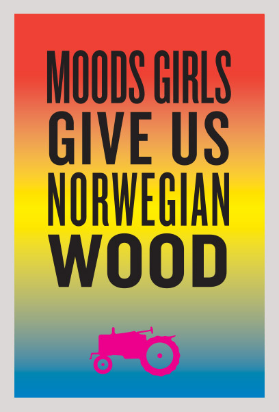 Moods of Norway Environmental Graphics / Los Angeles