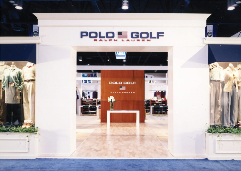 Polo Ralph Lauren Golf Trade Show Exhibit