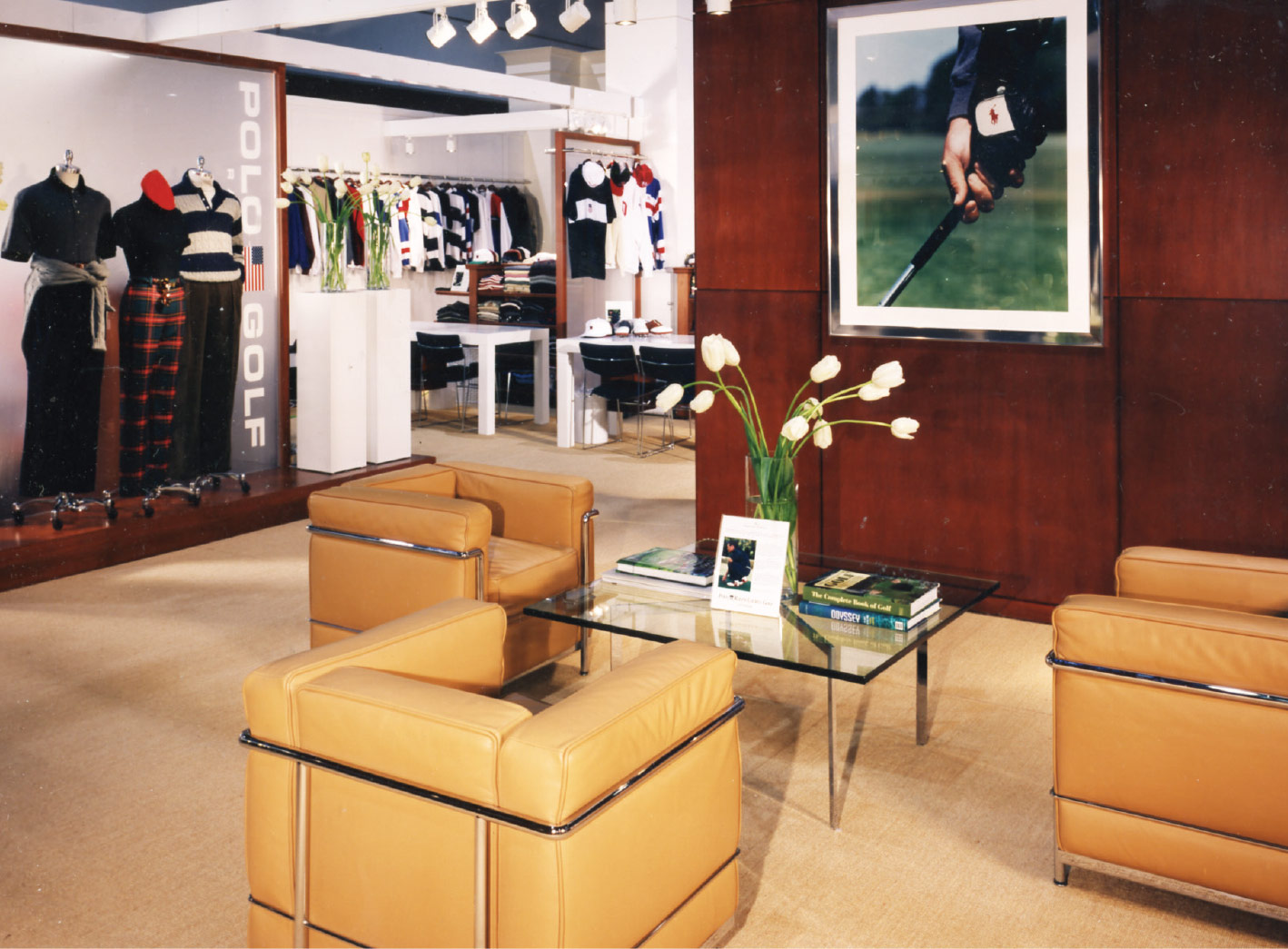 Polo Ralph Lauren Golf Showroom / New York