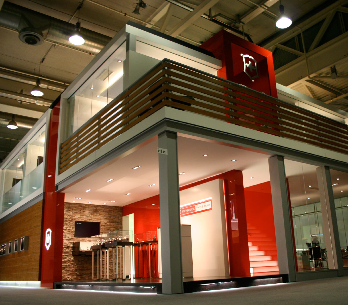 Victorinox / Swiss Army Trade Show Exhibit