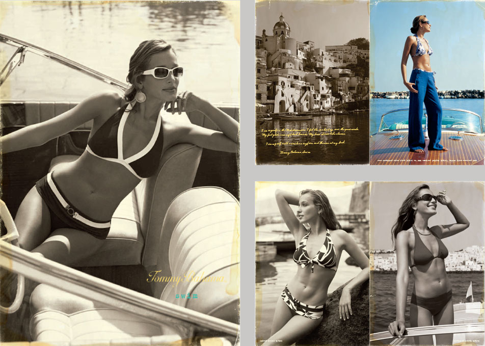 Tommy Bahama Women's Swim Brand Book