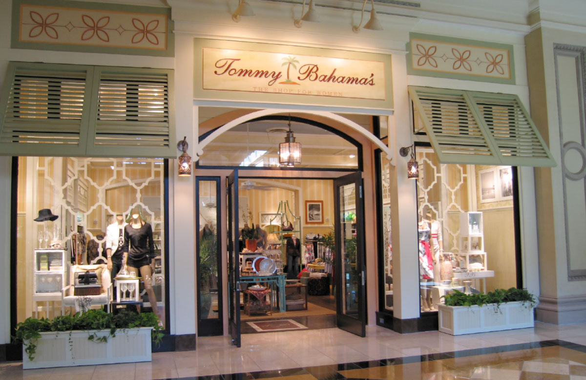Tommy Bahama Retail Environment
