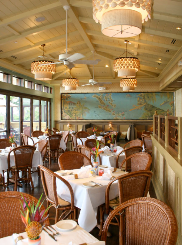 Tommy Bahama Restaurant Environment