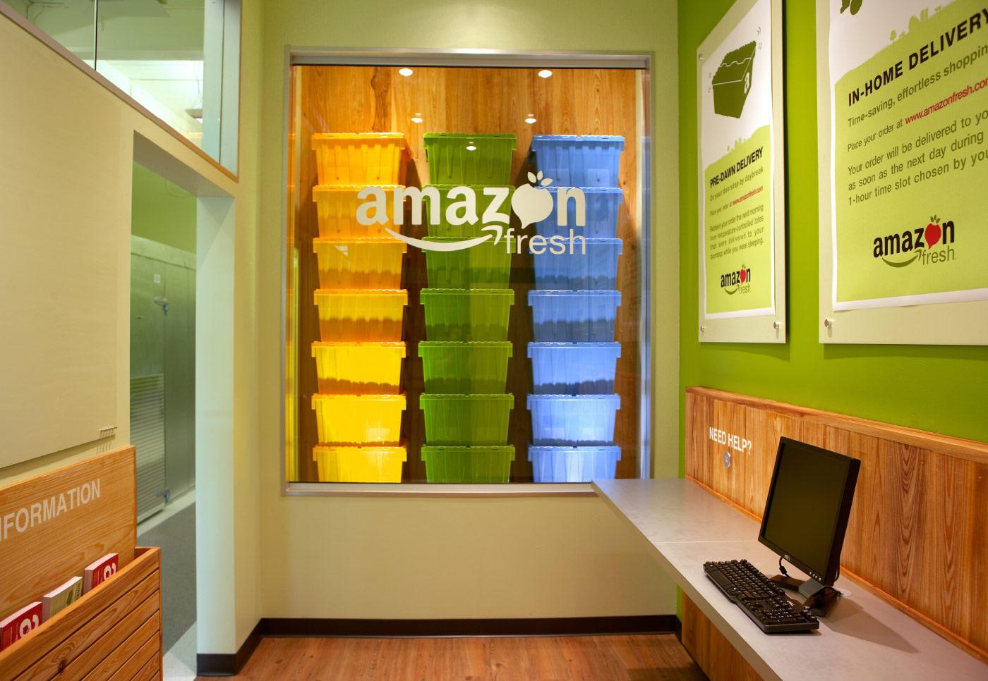 Amazon Fresh Retail Pop Up Shop