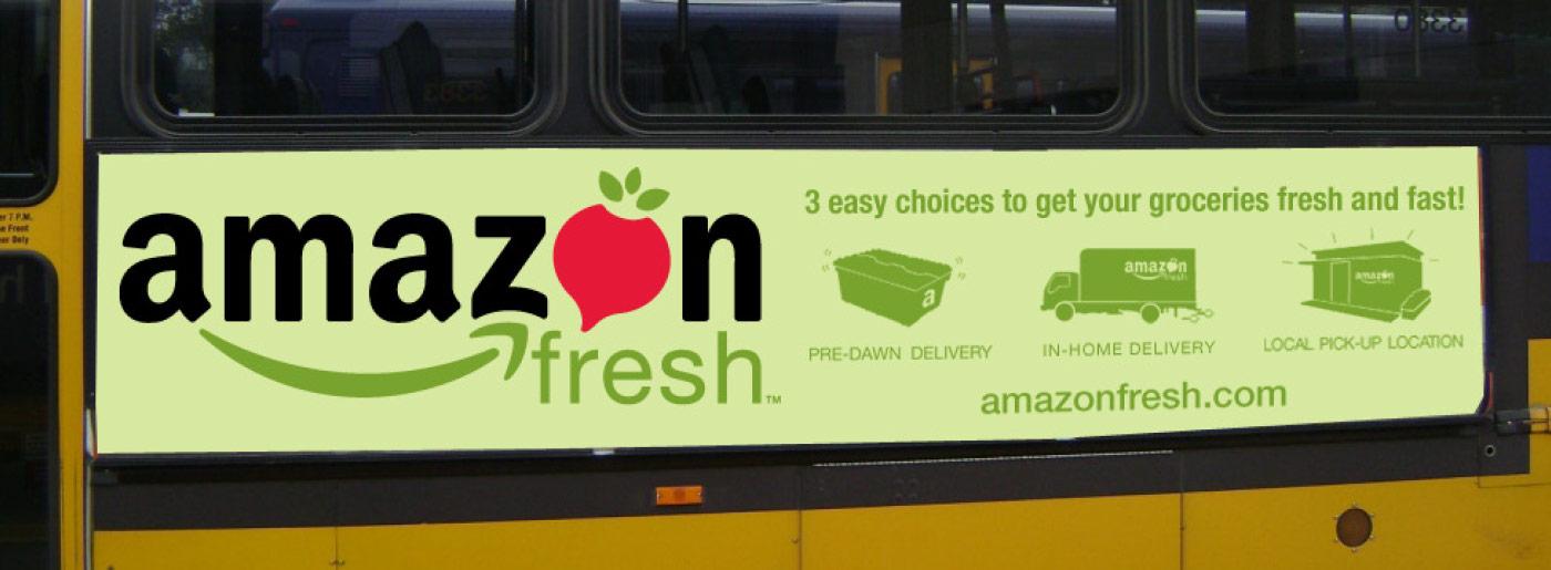 Amazon Fresh Advertising