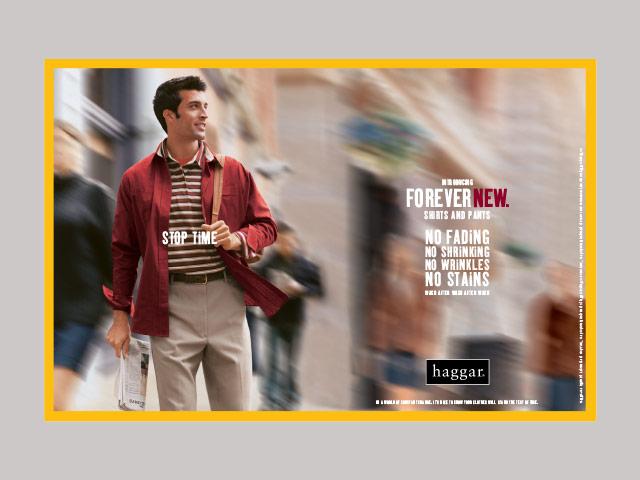 Haggar Clothing Company National Advertising