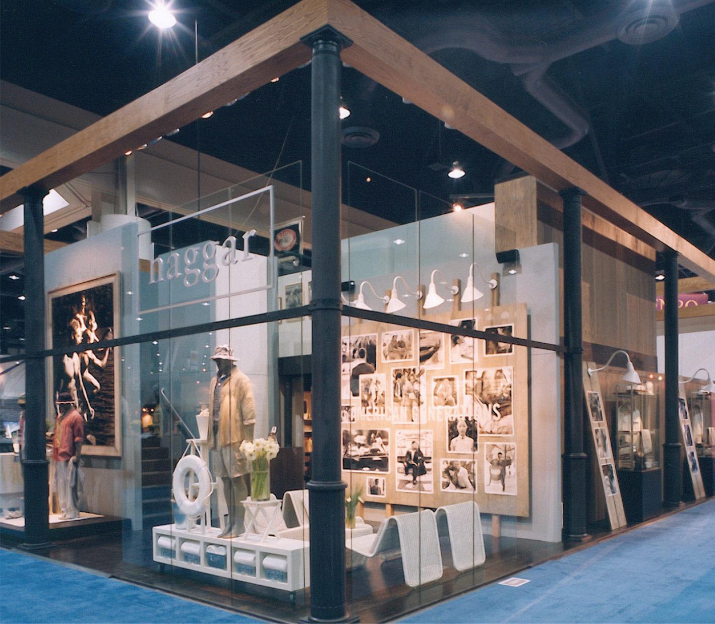 Haggar Clothing Company Trade Show Exhibit