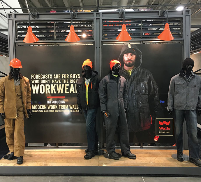 Walls Brands Outdoor Goods Trade Show Environment